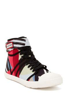 Hunter Original Dazzle High Top Sneaker
