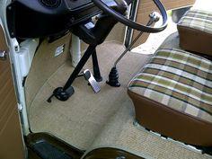 cab mats -  late bay westfalia campervan #vw #interiors