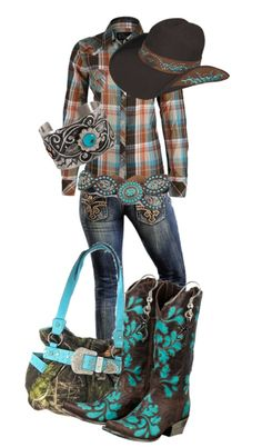 """""""true blue outa the woods country"""" by countrygirl99 ❤ liked on Polyvore"""