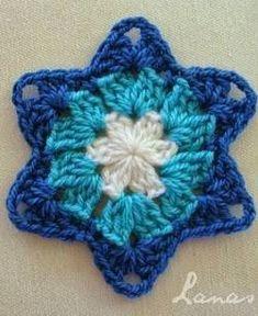 Patrón #764: Figura Estrella a Crochet #ctejidas http://blgs.co/kQ5n2z