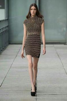 3D dress, Iris Van Herpen