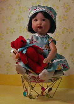RIKI Kish Baby Doll Handmade outfit jdldollclothes.com