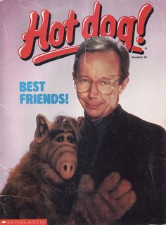 - HOT DOG magazine was awesome! 80 Tv Shows, Old Shows, Alf Tv Series, Alien Life Forms, 1980s Kids, Kids Zone, Geek Girls, Old Tv, Classic Tv