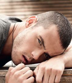 Danny Miller, English soap actor (Emmerdale) I can't stand soaps but this guy acting got me to watch Emmerdale haha amazing actor interested to see what he does next with his career.
