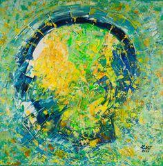 SEXY MOZEK 70 x 70 cm Akryl na plátně 2017 www.zuzanakrovakova.cz SEXY BRAIN 70 x 70 cm Acrylic on canvas 2017 www.zuzanakrovakova.com