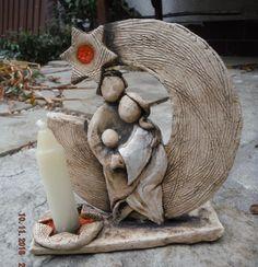 "keramický betlém kruhový ""linecký"""