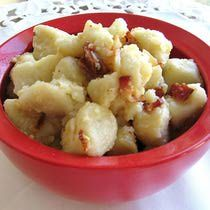 Potato Finger Dumplings Recipe - Recipe for Polish Kartoflane Kluski or Finger Dumplings