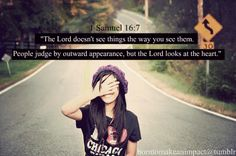 Do you judge people the way the LORD judges them?