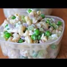 Clean Eating Tuna Pasta Salad Recipe - Clean & Delicious. I don't even like peas, but the flavor  is great!