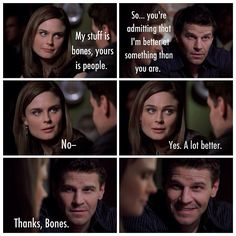 """4x16 """"My stuff is bones, yours is people""""."""