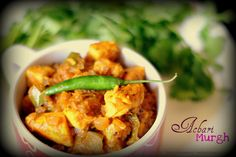 Achari Murgh or Pickle Style Chicken Curry