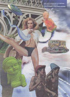 O Fabuloso Universo de Dawn Arsenaux aka. Ms. Neaux Neaux. #dawnarsenaux #neauxneaux #collages #art #fridom