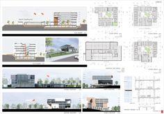 3. Mansiyon - Kadirli Belediyesi Hizmet Binası ve Kültür Merkezi Ulusal Mimari Proje Yarışması - kolokyum.com