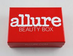 Check out my review of the October 2015 Allure Beauty Box Subscription Box!