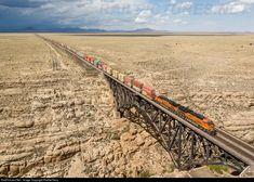 RailPictures.Net Photo: BNSF 3865 BNSF Railway GE ET44C4 at Canyon Diablo, Arizona by RailfanTerry