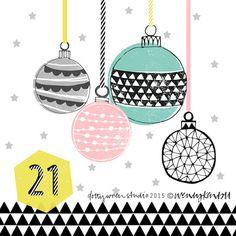 dottywrenstudio: advent....day 21