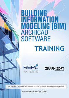 Building Information Modeling (BIM) ARCHICAD Software Training Program With Rudrabhishek Infosystem Pvt. Ltd. http://www.replinfosys.com/Graphisoft_Archicad.aspx