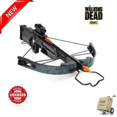 RARE Collectible The Walking Dead TV Daryl Crossbow Role Play Weapon Replica NEW