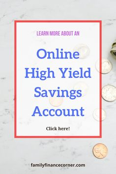 Online savings accounts, like the Capital One 360 Performance Savings, are probably one of the easiest forms of passive income with the lowest risk. The growth that can be achieved with these high yield savings accounts is vastly greater than a traditional savings accounts. Learn why I switched! #savings #money #savemoney #personalfinance #passiveincome Online Savings Account, High Yield Savings Account, Savings Accounts, Capital One 360, Greater Than, Passive Income, Personal Finance, Saving Money, Accounting