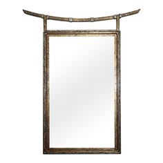 Vintage Giltwood Chinoiserie Mirror | via @The_Highboy at www.thehighboy.com