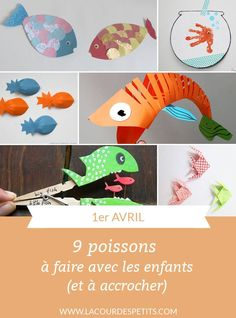 April what better than to tinker fish? And if in addition you can hang in the back of buddies or adults . Check out these 9 fish crafts to hang! Diy For Kids, Crafts For Kids, Fish Crafts, Peaceful Parenting, April Fools, Recycled Art, Activities For Kids, Dinosaur Stuffed Animal, Projects To Try
