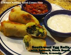 Baked SW Egg Rolls -  Where Nothing Good Comes Easy