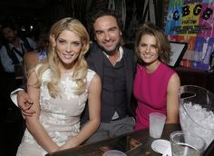 "#StanaKatic, #AshleyGreene & #JohnnyGalecki at the ""CBGB"" L.A. premiere after party (2013)"