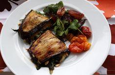 Eggplant Wraps by Jeff Gordinier