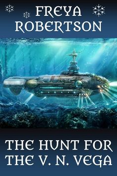 The cover for my elf steampunk novella, The Hunt for the VN Vega