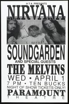 Grunge days - Nirvana, Soundgarden, The Melvins