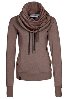 Scarf and a hoodie in one! Cute