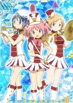 Sayaka, Madoka & Mami - Band