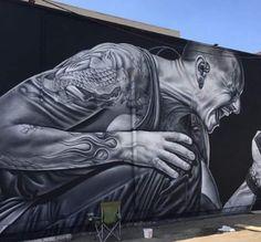 Mural Chester Bennington