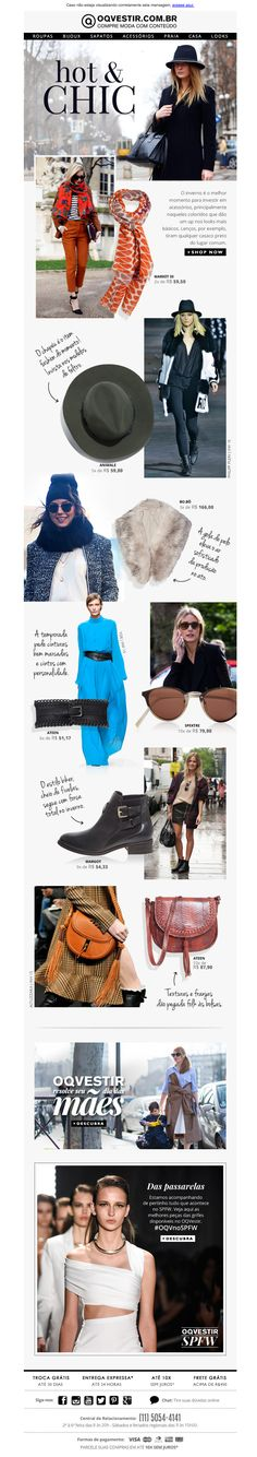 OQVestir | newsletter | fashion email | fashion design | email | email marketing | email inspiration | e-mail