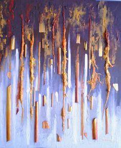 Arjè Negro, Año 2011, Técnica mixta sobre tela, Medidas: 42 x 52 Centímetros. Autor: Gianni Fedele Mazza.