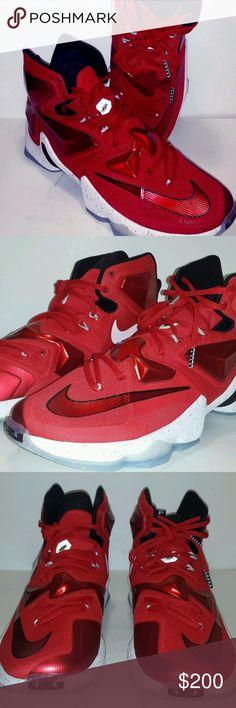 c39de7ee55e LeBron 13 XIII  On Court  Men s Sz 11.5 Sneakers. Black Nike ShoesBlack  NikesFoodsKids ...