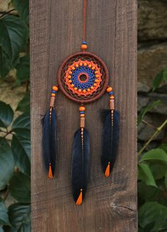 Car dream catcher/Small dreamcatcher/ Car rear by MyHappyDreams