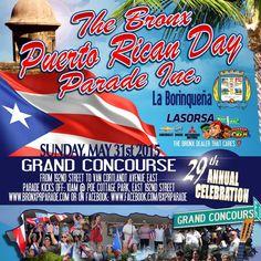 Gran desfile Puerto Riqueño #Bronx #alegria #diversion #domingo / Puerto Rican Parade in the Bronx #dance #fun #Sunday /  Desfile #PuertoRiqueno no bronx #sunday #alegria #diversão / 192nd Street - Van Cortlandt Avenue East 10am.
