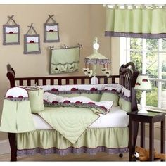 Shop for Sweet Jojo Designs Ladybug Parade Crib Bedding Set. Get free delivery On EVERYTHING* Overstock - Your Online Baby Bedding Shop! Baby Girl Crib Bedding, Girls Bedding Sets, Cheap Bedding Sets, Nursery Bedding Sets, Crib Sets, Baby Cribs, Ladybug Nursery, Baby Ladybug, Ladybug Room