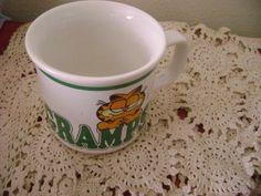 Garfield Coffee Tea Mug 1978 Enesco Gramps 10 by SevenSistersBooks
