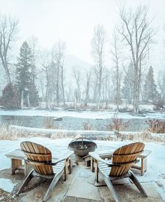 Nature travel at its best in at Sweet Grass Canvas Cabin at The Ranch at Rock Creek. Glamping season never ends in our neck of the woods. We're excited to explore the snowy forest and mountains this winter. Let it snow!