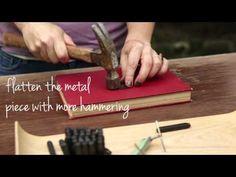 Beginner DIY Metal Stamped Jewelry - #KollaboraAltSummit