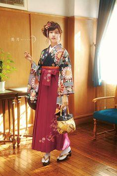 Mitsuki Yamamoto 着物/袴#kimono/hakama