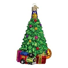 Old World Christmas Morning Tree Glass Blown Ornament * More Details @  Http://