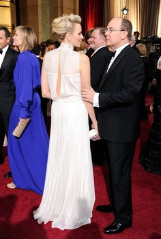 Best photos of royals attending the Oscars over the years, including Princess Charlene of Monaco and Grace Kelly Fürstin Charlene, Princesa Charlene, Monaco Charlene, As Monaco, Monaco Royal Family, Grace Kelly, Prince Albert Of Monaco, Divas, Estilo Glamour