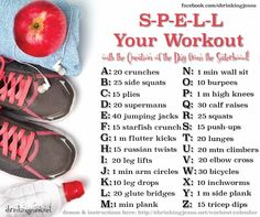 Spell your workout