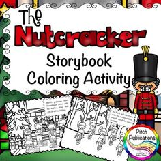 Awesome for the Nutcracker activities I am doing! AND you can get the Full Color version to go on your screen too! Music Activities, Color Activities, Winter Activities, Coloring Books, Coloring Pages, Carnival Of The Animals, Music And Movement, Elementary Music, Music Classroom