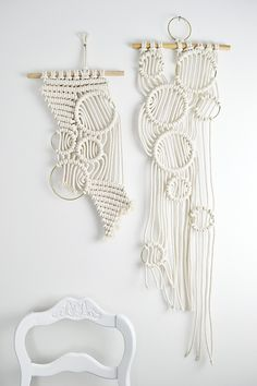 Macrame Wall Hangings by Amy Zwikel Studio