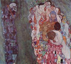 Gustav Klimt:Death and Life 1911