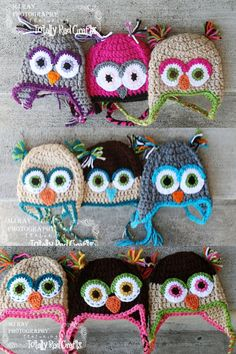 LOVE the owl hats!